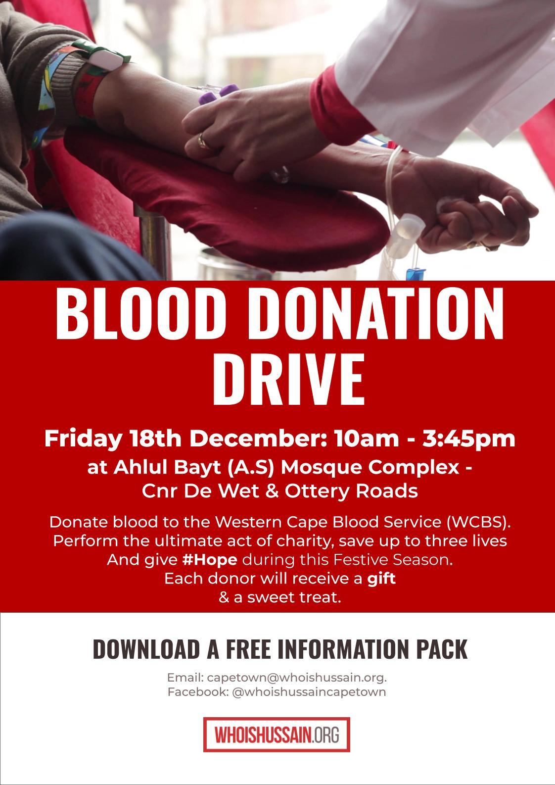 Blood Donation Cape Town 20201218